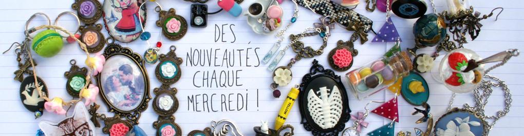 Crotte de Poule-nouveautés tous les mercredi-bijoux fantaisie