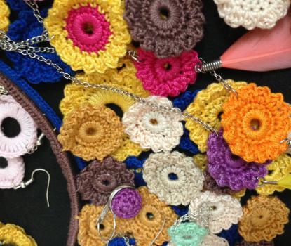 Crotte de Poule-créatrice bijoux- fantaisie-crochet-Faty Deluxe