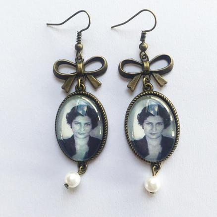 Boucles d'oreilles Simone Veil