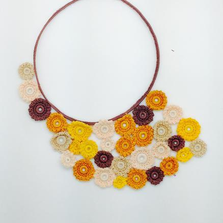 Crotte de Poule-Faty Deluxe-crochet-bijoux fantaisie-color pop
