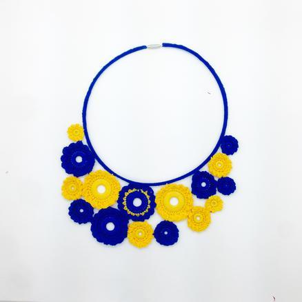 Crotte de poule- créatrice bijoux fantaisie-Faty Deluxe-crochet-color pop