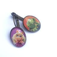 Boucles d'oreilles Muppet show