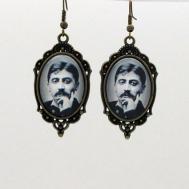 boucles d'oreilles fantaisie-Marcel Proust-madeleine-joli