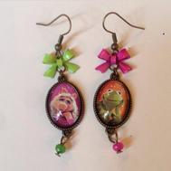 Crotte de Poule-bijoux fantaisie-nineties-Muppet show