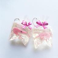 Boucles d'oreilles crevettes