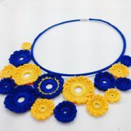 Crotte de Poule-bijoux fantaisie-crochet-Faty Deluxe-color pop