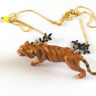 Collier totem tigre